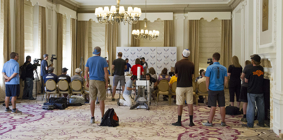 Disc Golf Press Conference
