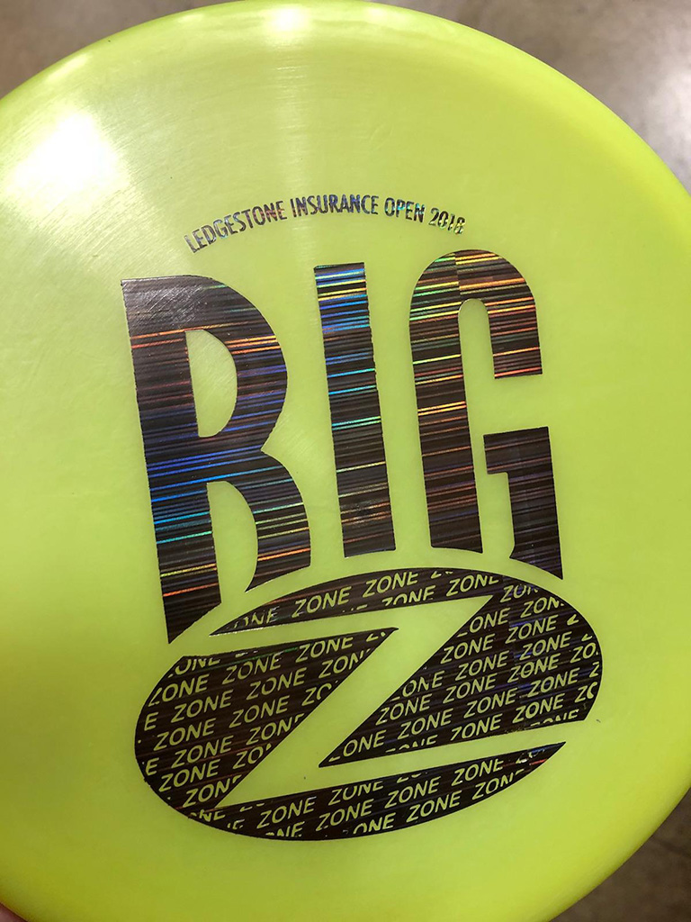 2018 Ledgestone Open LE Discs: Big Z Zone