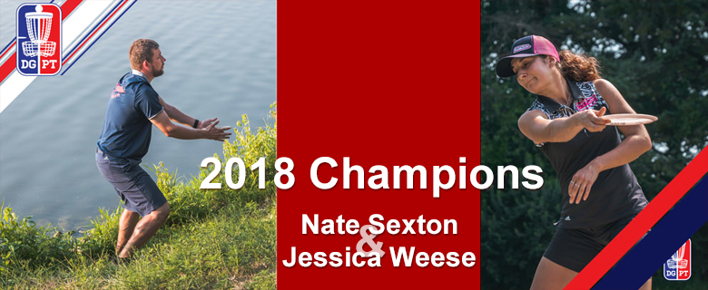 2018 Ledgestone Open Champions: Nate Sexton and Jessica Weese